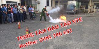 huấn luyện phòng cháy chữa cháy